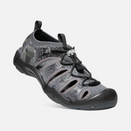Сандалии KEEN Evofit One M | Heathered Black/Magnet | Вид 1