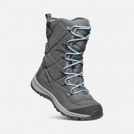 Сапоги женские KEEN TERRADORA LACE BOOT WP W | Steel Grey | Вид 1