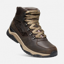 Ботинки мужские KEEN INNATE LEATHER MID WP LTD M | Root Brown | Вид 1