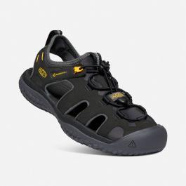 Сандалии мужские KEEN Solr Sandal M   Black/Gold   Вид 1