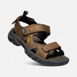Сандалии мужские KEEN Targhee III Open Toe Sandal M | Bison/Mulch | Вид 1