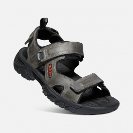 Сандалии мужские KEEN Targhee III Open Toe Sandal M   Grey/Black   Вид 1