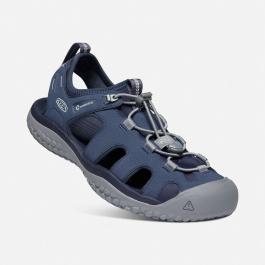 Сандалии мужские KEEN Solr Sandal M | Navy/Steel Grey | Вид 1