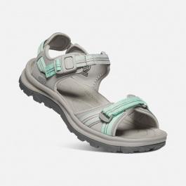 Сандалии женские KEEN Terradora II Open Toe Sandal W   Light Gray/Ocean Wave   Вид 1