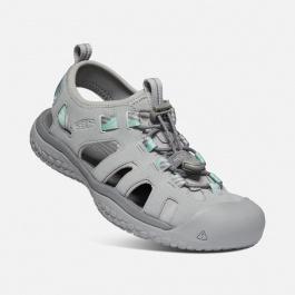 Сандалии женские KEEN Solr Sandal W   Light Gray/Ocean Wave   Вид 1