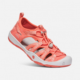 Сандалии подростковые KEEN Moxie Sandal Y | Coral/Vapor | Вид 1