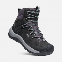 Ботинки женские KEEN REVEL IV MID POLAR W | Black/Harbor Gray | Вид 1
