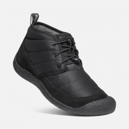 Ботинки мужские KEEN HOWSER II CHUKKA M | Black/Black | Вид 1