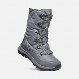 Сапоги женские KEEN TERRADORA II LACE BOOT WP W | Pewter/Drizzle | Вид 1