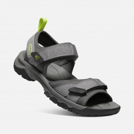 Сандалии мужские KEEN TARGHEE III OPEN TOE H2 M | Steel Grey/Evening Primrose | Вид 2