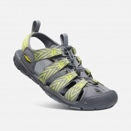 Сандалии KEEN Clearwater CNX | Steel Grey/Evening Primrose | Вид 2
