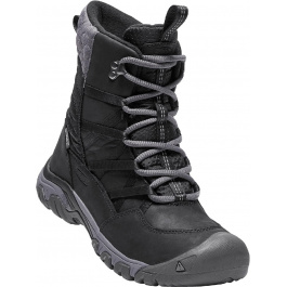 Сапоги женские KEEN Hoodoo III Lace Up W | Black/Magnet | Вид 1