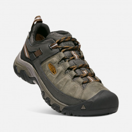Кроссовки KEEN Targhee III WP M | Black Olive/Golden Brown | Вид 1