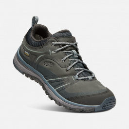 Ботинки женские KEEN Terradora Leather WP W | Tarragon/Turbulence | Вид 1