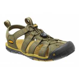Сандалии KEEN Clearwater CNX | Burnt Olive/Olivenite | Вид 1