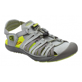 Сандалии женские KEEN Cypress W | Neutral Gray/Green Glow | Вид 1