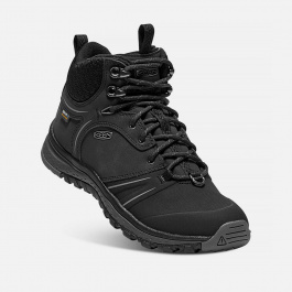 Ботинки женские KEEN Terradora Wintershell W | Black/Magnet | Вид 1