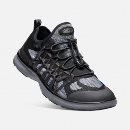 Кроссовки KEEN Uneek Exo M | Black/Steel Grey | Вид 1