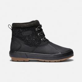 Ботинки женские KEEN Elsa II Ankle Wool WP W   Black/Raven   Вид справа