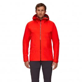 Куртка мужская Mammut Crater HS Hooded Jacket Men | Spicy | Вид 1