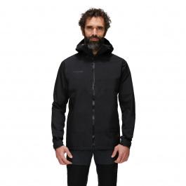 Куртка мужская Mammut Convey Tour HS Hooded Jacket Men | Black | Вид 1