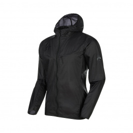 Куртка мужская Mammut Convey WB Hooded Jacket Men | Black | Вид 1