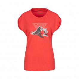 Футболка женская Mammut Mountain T-Shirt Women | Sunset | Вид 1