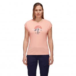 Футболка женская Mammut Mountain T-Shirt Women | Evening Sand | Вид 1