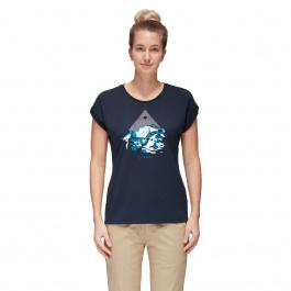 Футболка женская Mammut Mountain T-Shirt Women | Marine | Вид 1