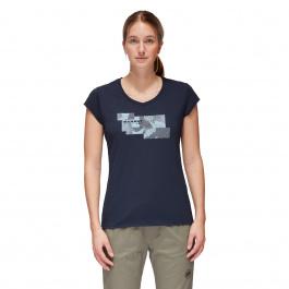Футболка женская Mammut Trovat T-Shirt Women | Marine | Вид 1