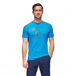 Футболка мужская Mammut Mountain T-Shirt Men   Gentian   Вид 1