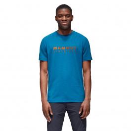 Футболка мужская Mammut Trovat T-Shirt Men   Sapphire Prt1   Вид 1