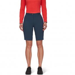 Шорты женские Mammut Runbold Shorts Women | Marine | Вид 1