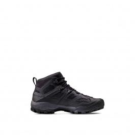 Ботинки мужские Mammut Ducan Mid GTX® Men | Black/Dark Titanium | Вид 1