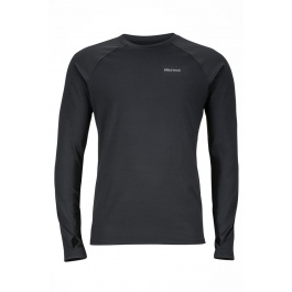 Термобелье Marmot Harrier LS Crew | Black | Вид 1
