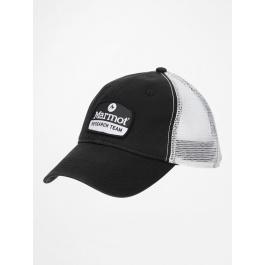 Кепка Marmot Alpine Soft Mesh Trucker | Black/White | Вид 1