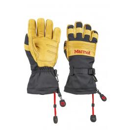 Перчатки Marmot Ultimate Ski Glove | Black/Tan | Вид 1