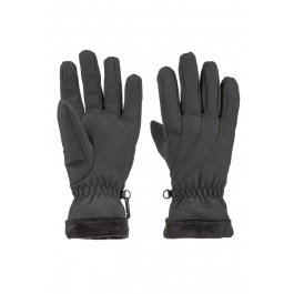 Перчатки женские Marmot Wm's Fuzzy Wuzzy Glove | Black | Вид 1
