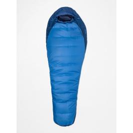 Спальник мужской Marmot Trestles 15 Long X wide | Cobalt Blue/Blue Night | Вид 1