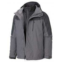 Куртка Marmot Bastione Component Jacket | Cinder/Slate Grey | Вид 2