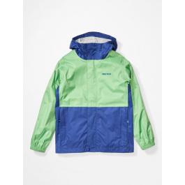 Куртка детская Marmot Boy's PreCip Eco Jacket   Emerald/Royal Night   Вид 1