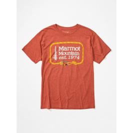 Футболка мужская Marmot Ascender Tee SS | Picante Heather | Вид 1