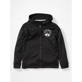 Куртка для мальчика Marmot Boy's Mills Hoody   Black   Вид 1