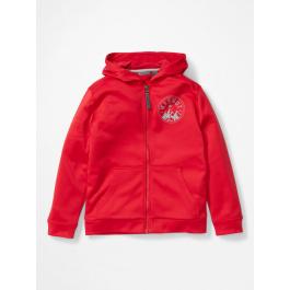 Куртка для мальчика Marmot Boy's Mills Hoody | Team Red | Вид 1