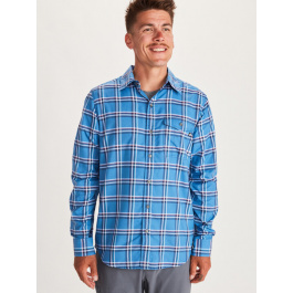 Рубашка мужская Marmot Aerofohn LS | Varsity Blue | Вид 1