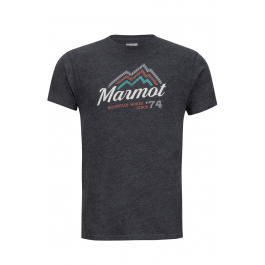 Футболка Marmot Beams Tee SS | Charcoal Heather | Вид 1