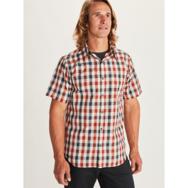 Рубашка мужская Marmot Kingswest SS | Picante | Вид 1