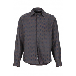 Рубашка Marmot Lost Coast Midweight Flannel | Slate Grey | Вид 1