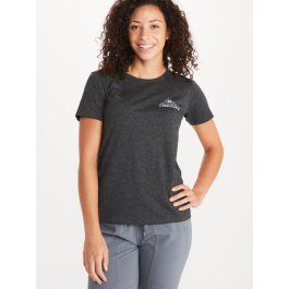Футболка женская Marmot Wm's Arrow Tee SS | Charcoal Heather | Вид 1