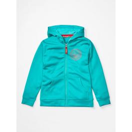 Куртка для девочки Marmot Girl's Whitney Hoody | Ceramic Blue | Вид 1